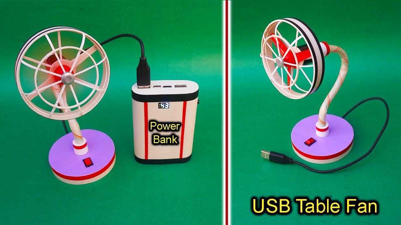 Download How To Make A Flexible USB Table Fan At Home | USB Table Fan | Powerful Mini USB Table Fan | Fan DIY