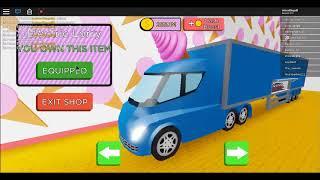 ALL EQUIPMENT! | Roblox Ice Cream Van Simulator
