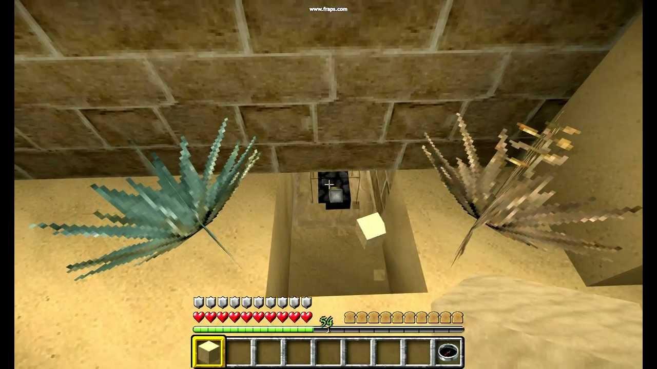 Minecraft Hidden Three Way Switch For Brick Door Youtube In