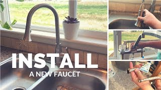 HOW TO INSTALL A NEW FAUCET || 7 Tips