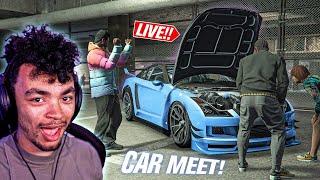 GTA 5 Online - NEW OPEN CAR MEET - Bring your RICE!