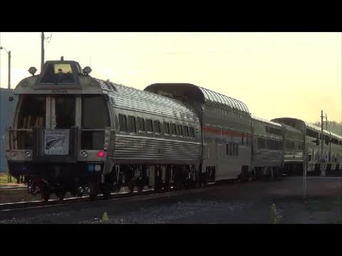 Heritage Unit, Business Cars, Viewliner, and Great Dome on Amtrak #5