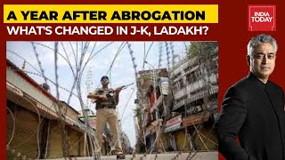 Anniversary Of Article 370 Abrogation: One Year On, What's Changed In J-K, Ladakh? | News Unlocked