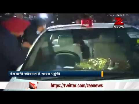 Devyani Khobragade arrives in Delhi; India asks US diplomat to leave