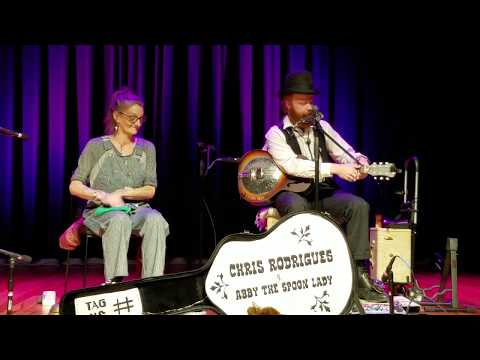 Chris Rodrigues & Abby the Spoon Lady - Angels in Heaven