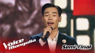 "Usukhbayar - ""Khair"" | Semi Final | The Voice of Mongolia 2018"