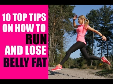 best way to lose belly fat when running
