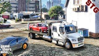 GTA 5 REAL LIFE MOD #709 - LET'S GO TO WORK!!!(GTA 5 REAL LIFE MODS) REPO JOB
