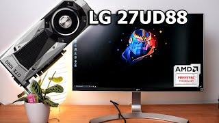 Can you use LG 27UD88/UD68 Freesync with Nvidia GPU?