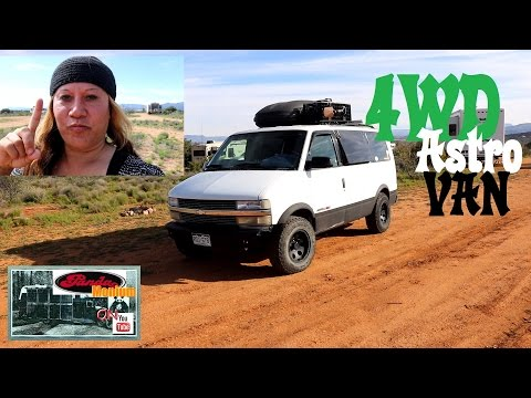 Lady Living In A 4WD Astro Van Converted