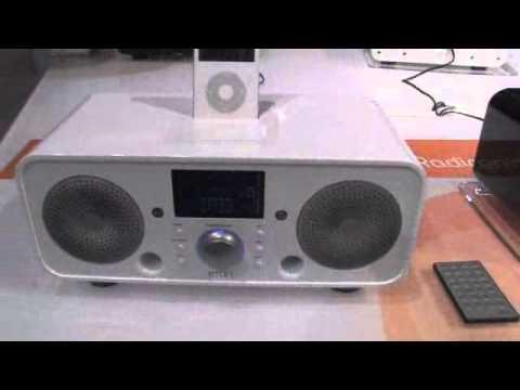 Eton Sound 140 : radio de table iPod et produits Croix Rouge (CES 2008)