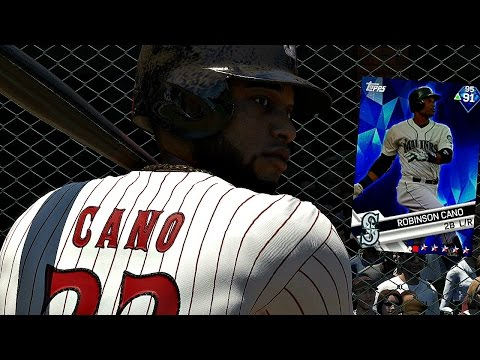 ROBINSON CANO IS THE HEART AND SOUL OF THE SQUAD!! MLB The Show 17 Battle Royale
