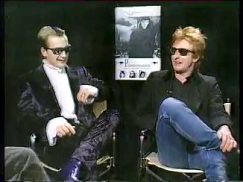 The Damned - 1986 NZ interview..