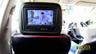 TOA Wood Stain ads in taxi by Taximedia Thailand Thumbnail