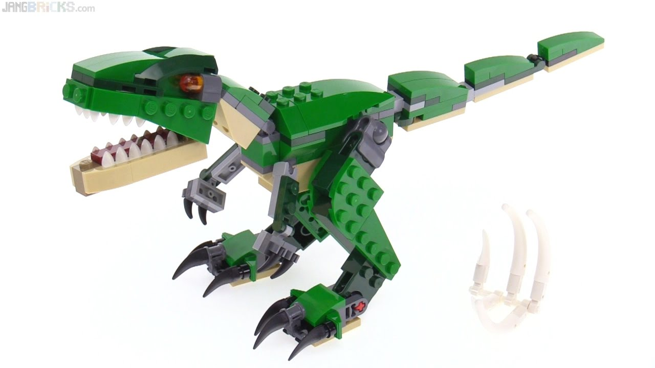 Lego creator 3 in 1 mighty dinosaurs review 31058 youtube - Lego dinosaures ...