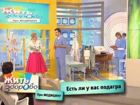 Жить здорово (головная боль, кожа, вещи в шкафу, подагра) 2010 11 15