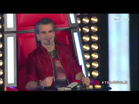 Ira Green - Back in Black - (AC/DC cover) live @ The Voice of Italy - RAI2 (Battle)