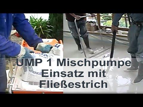 UMP 1 Fließestrich Maxit plan 486 floating screed