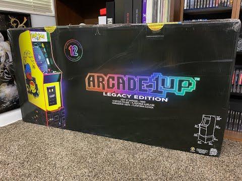 Arcade 1up Pac-Man Bandai Namco Legacy Review from TPRErik