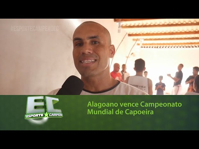 Alagoano vence Campeonato Mundial de Capoeira