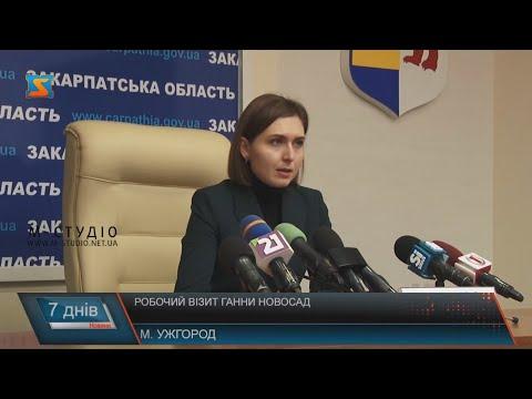 Робочий візит Ганни Новосад