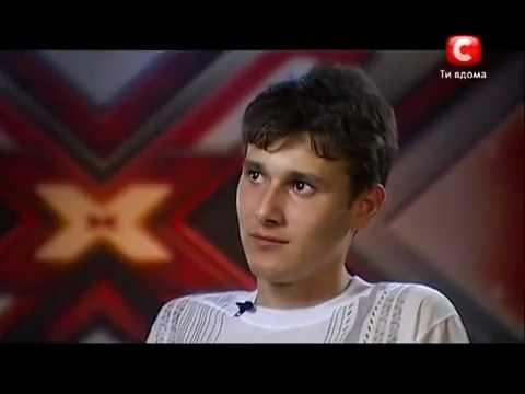 Х-фактор-3 - Николай Лесив Донецк 08.09.12