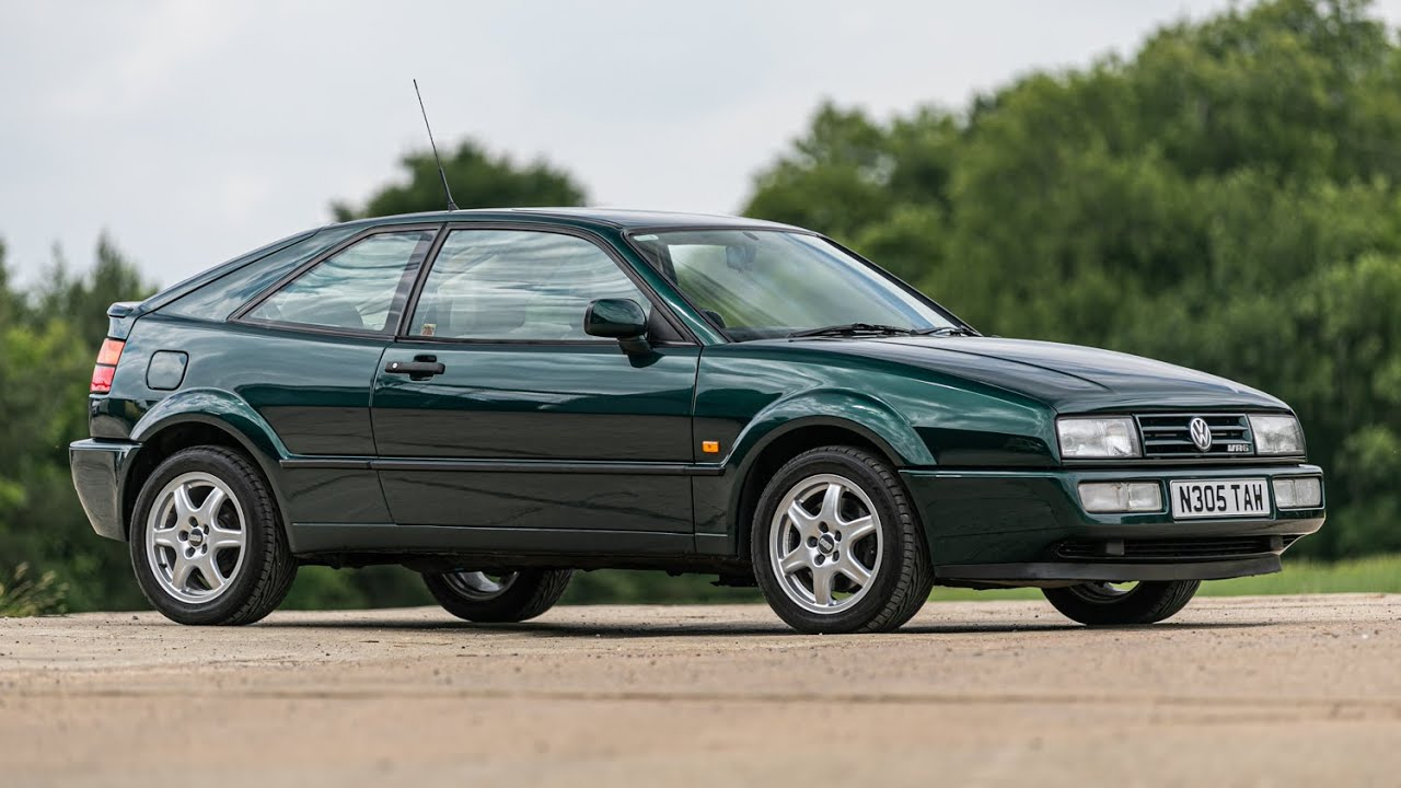 1995 VW CORRADO VR6 STORM - YouTube
