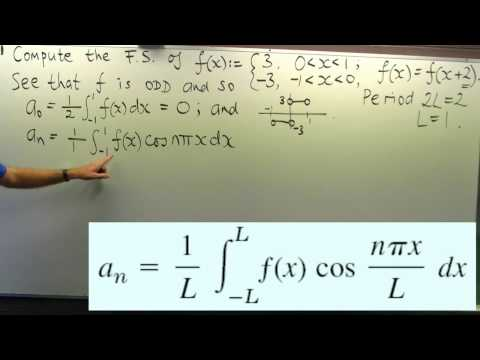 How to compute a Fourier series: an example