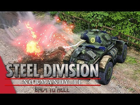 3rd APT Grand Final Game 2! Steel Division: Normandy 44 - YueJin vs Tarsh IV (Bois de Limors, 1v1)