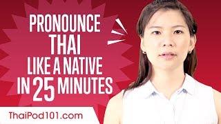 How to Pronounce Thai Like a Native Speaker