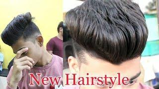 New Hairstyle For Men | Zigzag Cut & Medium Fade | Oye Semii
