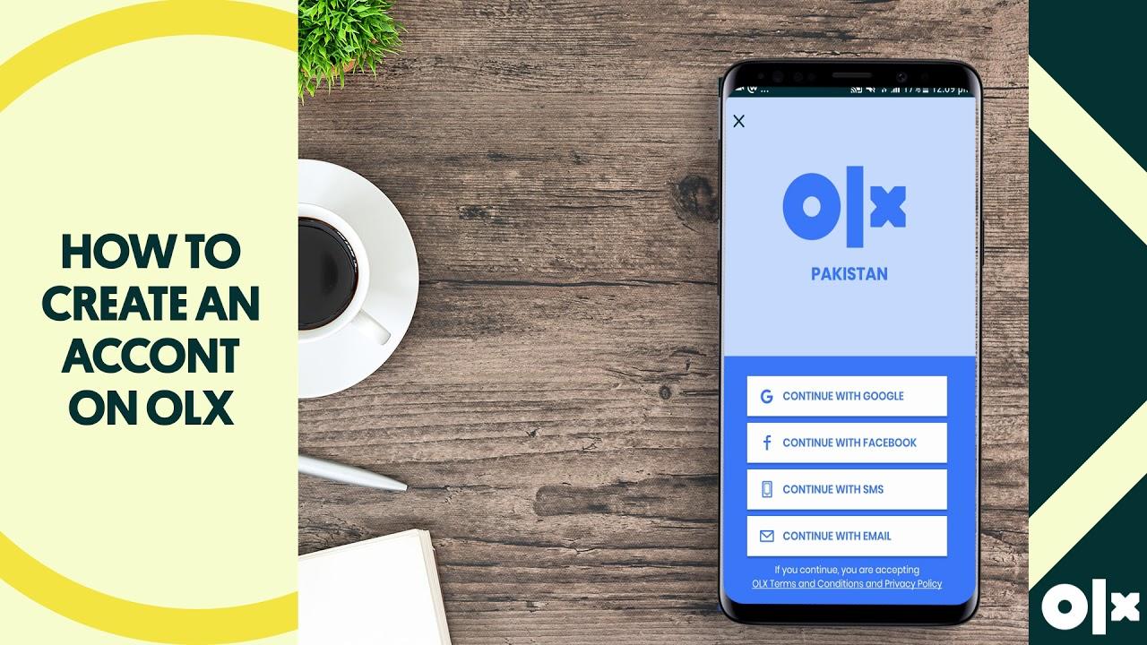 How to Create An Account On OLX?