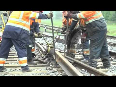 Railroad Repairing Is Fascinating to Watch