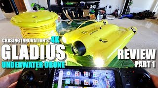GLADIUS Underwater FPV ROV Drone Review - Part 1 - Unboxing, Inspection, Setup