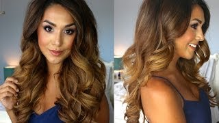 One of Alexandrea Garza's most viewed videos: Big Glamorous Curls | Lilly Ghalichi Inspired | Alexandrea Garza