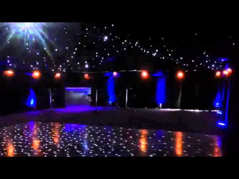 Marquees Hire With Starlight Roof And Mirror Ball And
