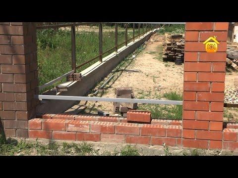 Забор из профнастила // FORUMHOUSE