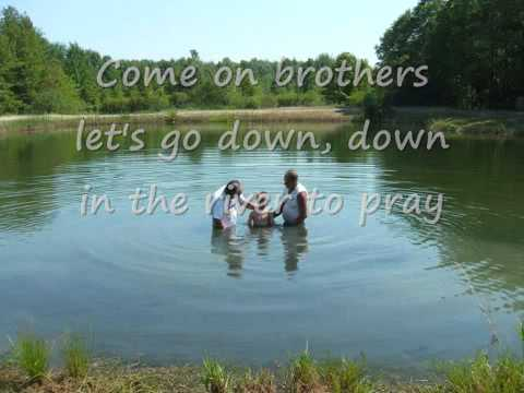 ALISON KRAUSS  DOWN TO THE RIVER TO PRAY with lyrics