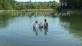 ALISON KRAUSS - DOWN TO THE RIVER TO PRAY (with lyrics)