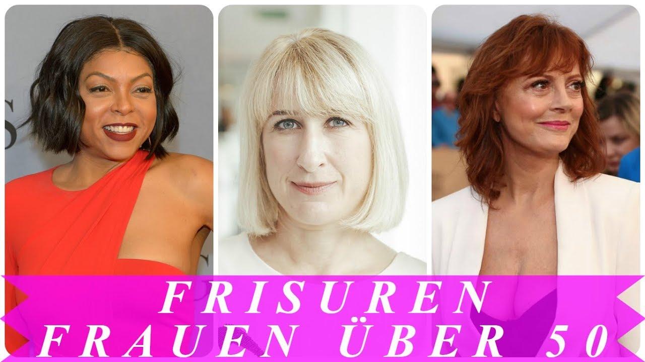 Beste Frisuren Für 50 Jährige Frauen 2018 Youtube
