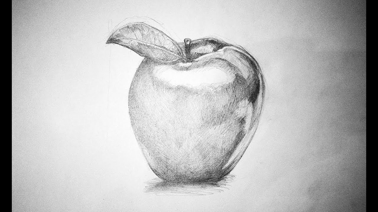 I Draw An Apple