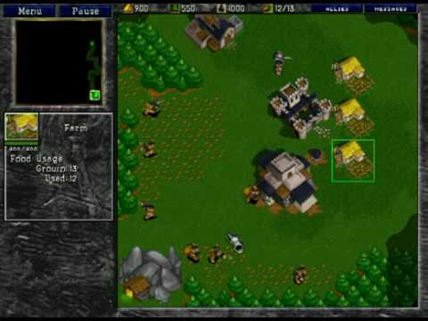Warcraft 2 Bn Human Vs Orc Part 1 Youtube