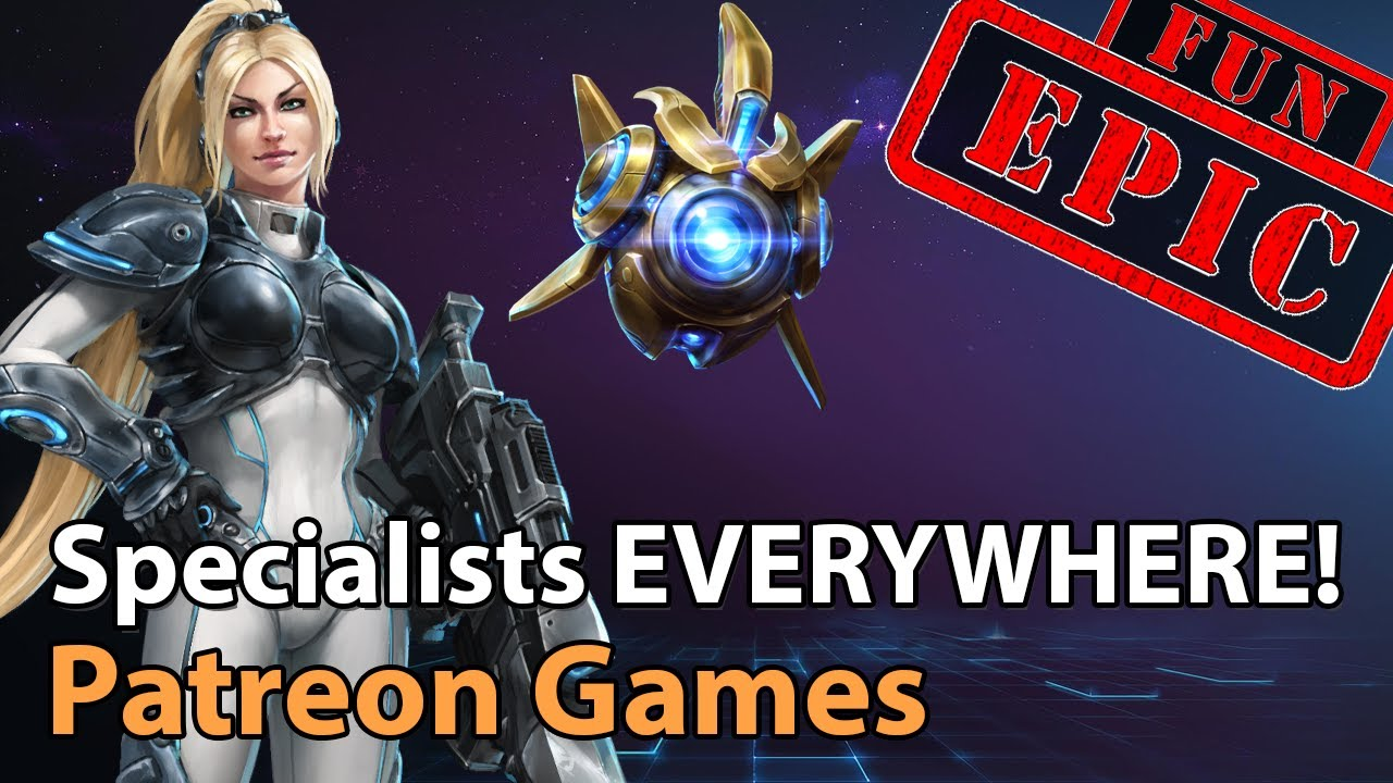 ► Patreon Games - Some Epic Fun with Supporter Games - Heroes of the Storm