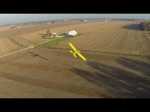 AT-802 Ag aircraft using VeriFly GPS Nav system, Shaping the Future of Ag Aviation