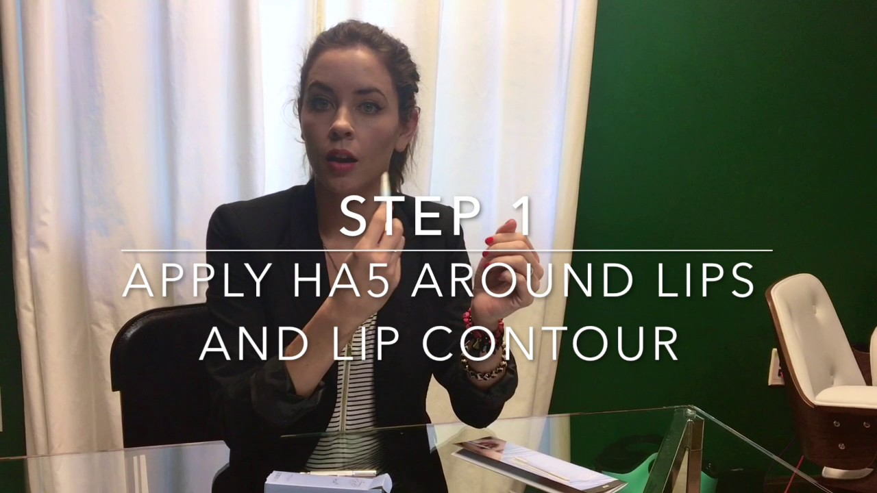The Aesthetic Skincare Center Ha5 Lip Plump System Youtube