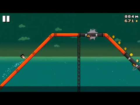 8 BIT WATERSLIDE (Android) - gameplay.