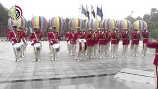 الرئيس المقدوني يضع أكاليل من الزهور على النصب التذكاري للسادات والجندي المجهول.. «فيديو»