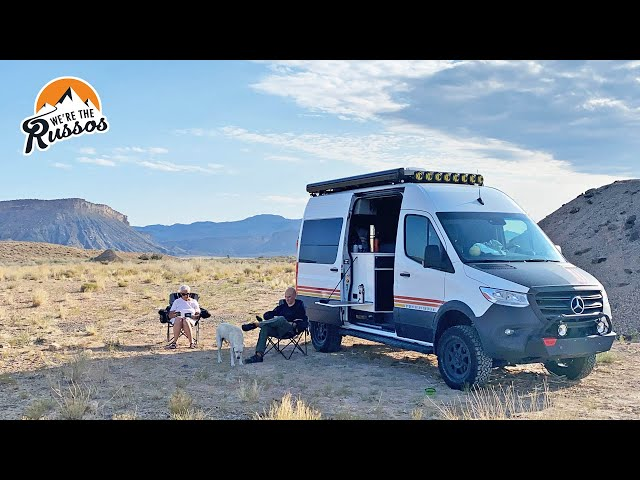 Where's the Bathroom? Boondocking with Mom | Summer with Mom Van Life Road Trip Episode 2