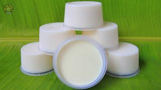 Cách Làm Sữa Chua Úp Ngược Dẻo Mịn Ngon Không Bị Tách Nước | Ăn Gì Đây