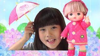 メルちゃん いちごのレインコートセット なかよしパーツ きせかえセット おもちゃ Baby Doll Mellchan Raincoat set Toy thumbnail